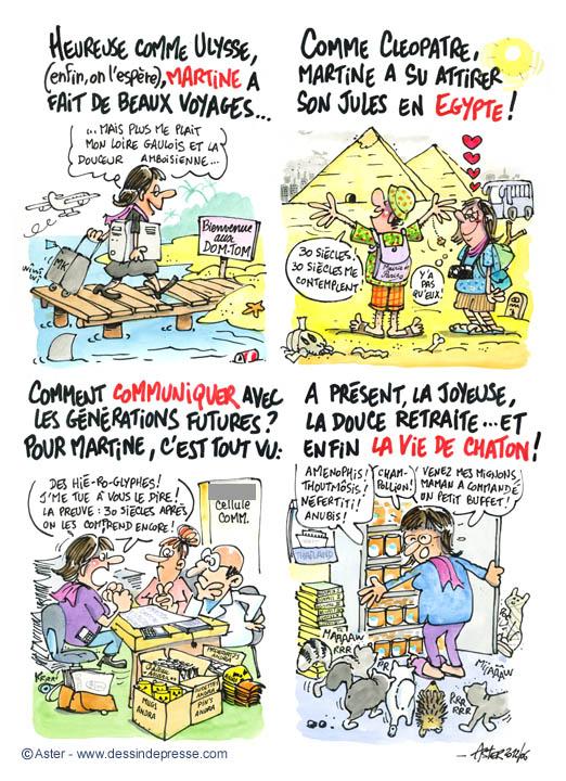 Caricatures et carictature de presse par le caricaturiste aster - Depart d un colocataire ...