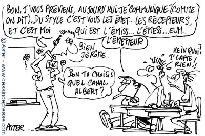 Dessins sur la communication